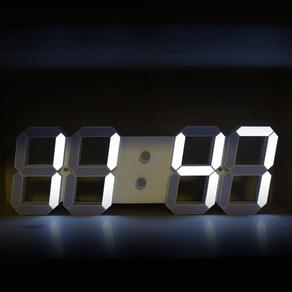 쥬코리아 3D LED 디지털 벽시계 세트, 1세트